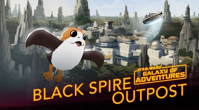Black Spire Outpost | Star Wars Galaxy of Adventures