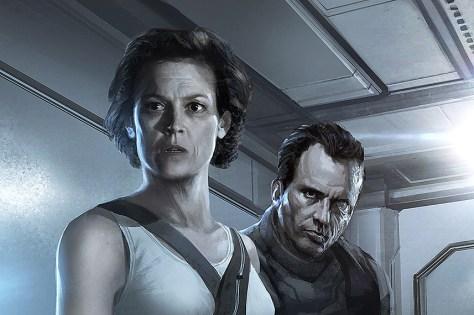 Ripley & Hicks - Alien 5 Concept Art