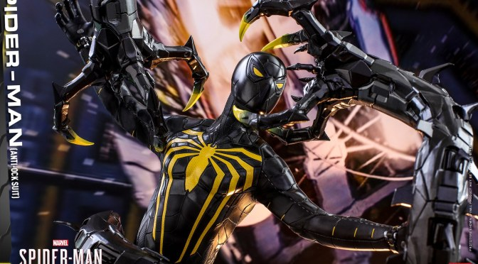 FIRST LOOK | HOT TOYS Spider-Man (Anti-Ock Suit) Figure Announced!