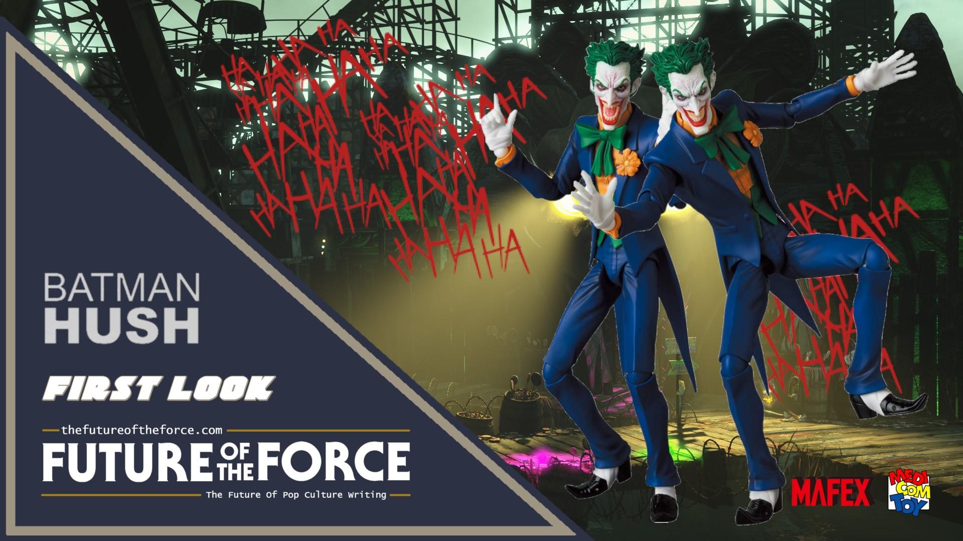 First Look The Joker Batman Hush Mafex Medicom Future Of The Force