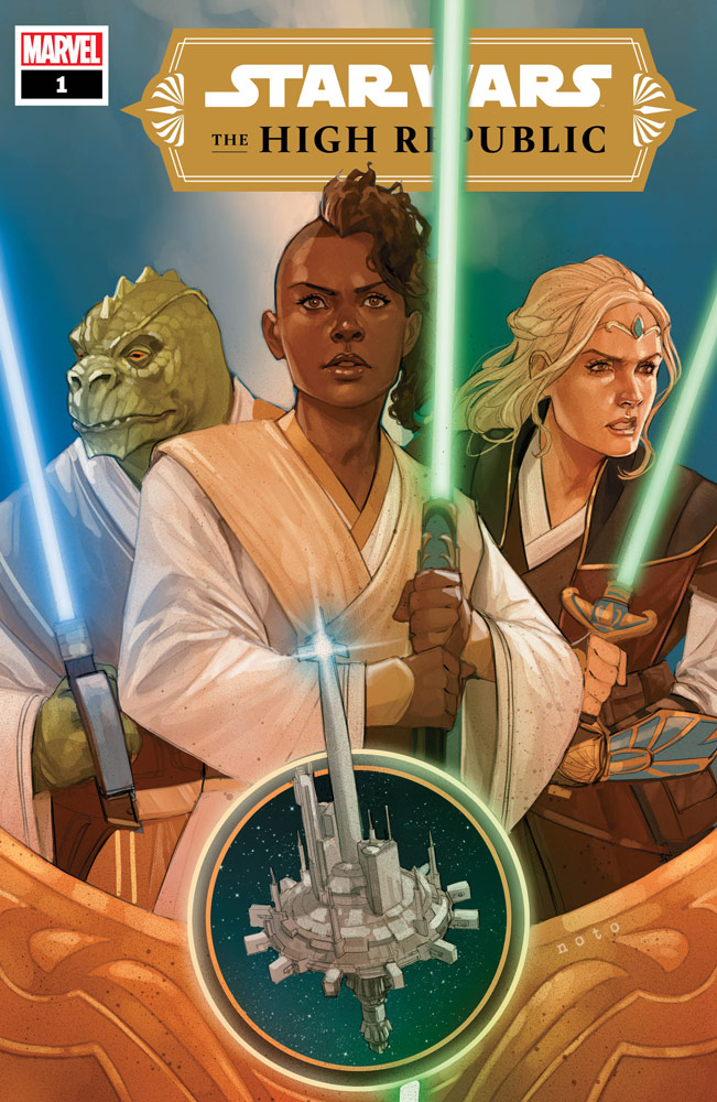 Marvel Star Wars The High Republic 1 Cover