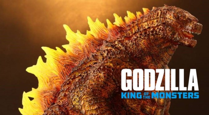 First Look | Burning Godzilla (Godzilla: King Of The Monsters) Statue From X-Plus