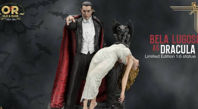 First Look | Bela Lugosi's 'Dracula' Statue By Infinite Statues