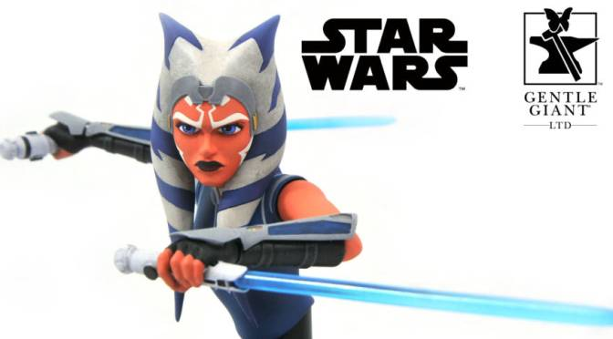 Ahsoka Tano Star Wars The Clone Wars Gentle Giant Mini Bust