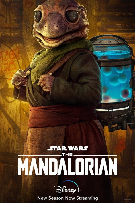 The Mandalorian Character Poster The Frog Lady