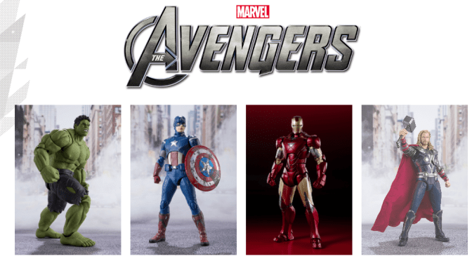FIRST LOOK | S.H. Figuarts Reveals New Avengers Figures!