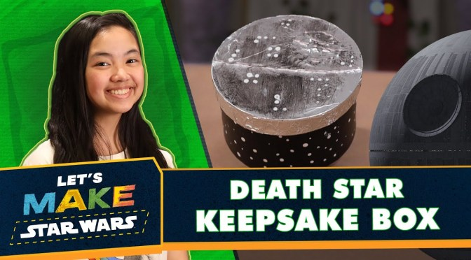 Let's Make Star Wars | How to Make a Death Star Keepsake Box