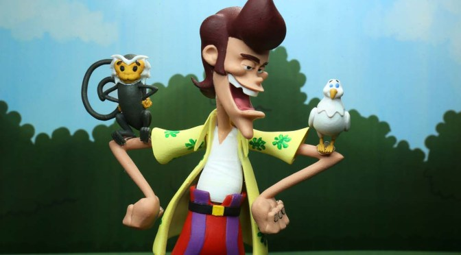 New Images For NECA's Ace Ventura Toony Classics Figure Revealed