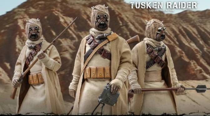 Mando Mondays | Hot Toys Reveals Their Tusken Raider Figure!