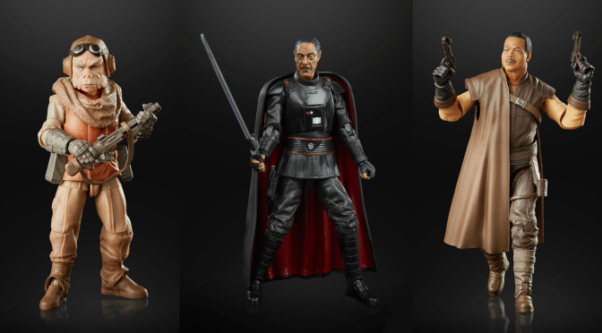 Mando Mondays | Moff Gideon, Kuiil, and Greef Karga Join The Black Series