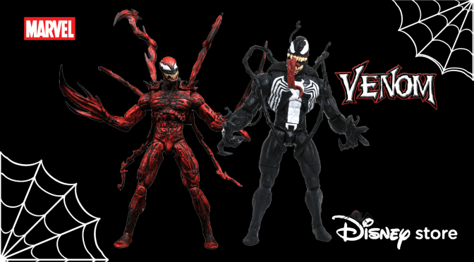 New Marvel Select Venom And Carnage Figures Coming To Disney Stores
