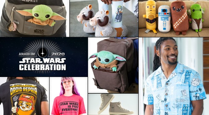 New Star Wars Celebration Merchandise Emerges From Lightspeed