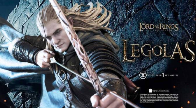 Prime 1 Studio Legolas Lord of the Rings Two Towers Statue