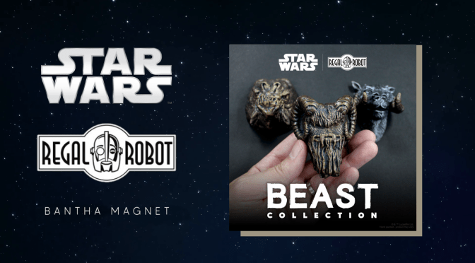 Mando Mondays | Regal Robot Magnetic Bantha Mini-Sculpture Revealed