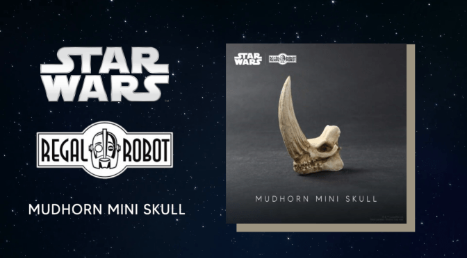 Regal Robot | Mudhorn Skull Mini Sculpture 'The Mandalorian' Revealed