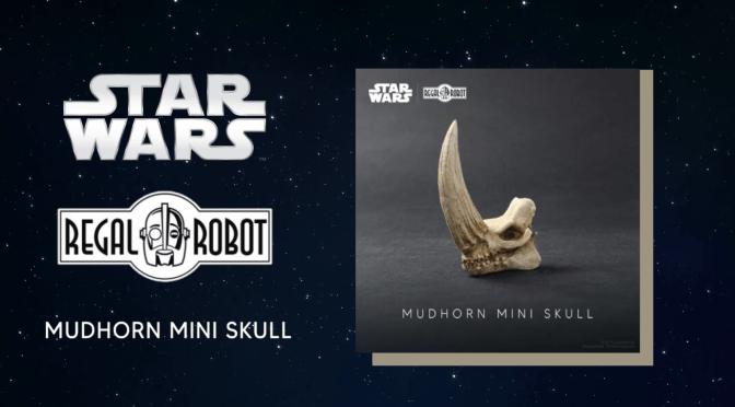 Regal Robot | Mudhorn Skull Mini Sculpture 'The Mandalorian' Revealed