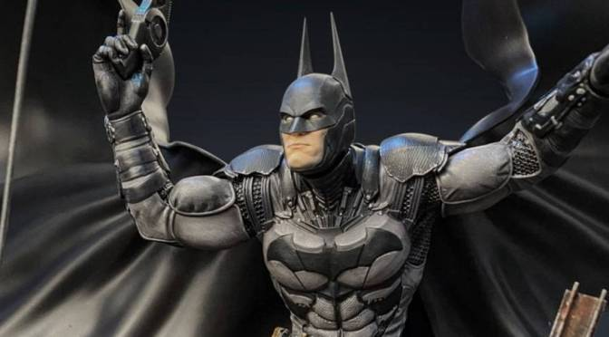 First Look | Batman: Arkham Knight 1/8 Statue By Silver Fox Collectibles
