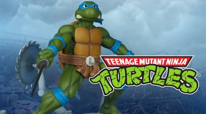 First Look |  'Teenage Mutant Ninja Turtles' Leonardo Statue by PCS Collectibles