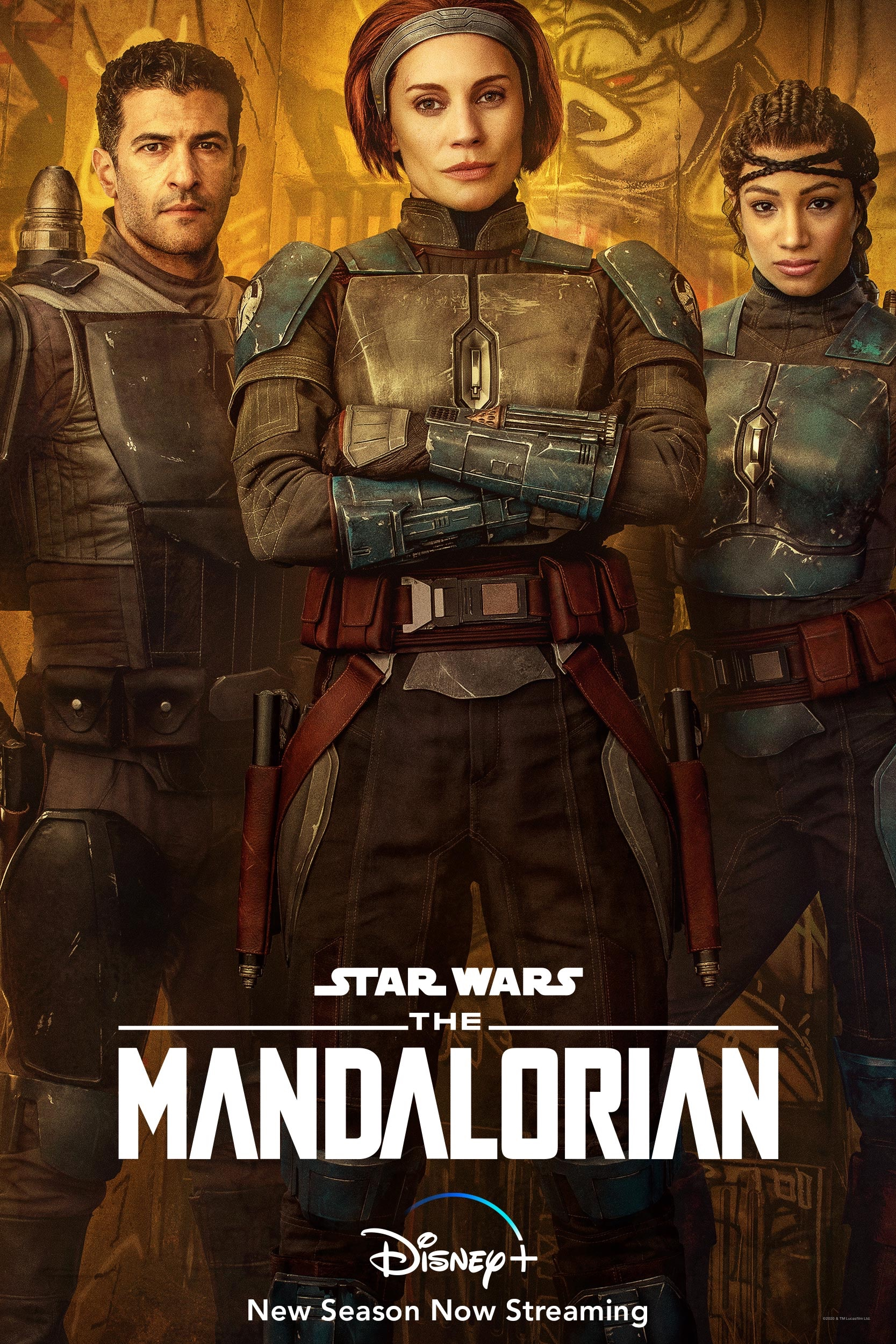 Bo-Katan-And-Clan-Kryze-Character-Poster