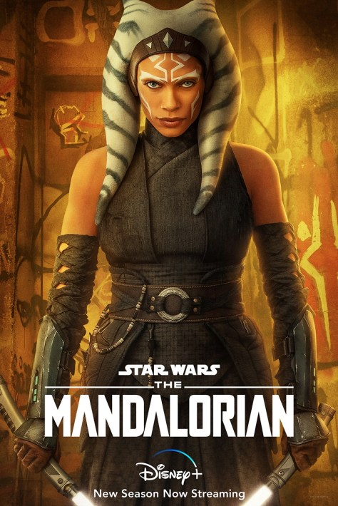 The Mandalorian Chapter 13 Ahsoka Tano Character Poster