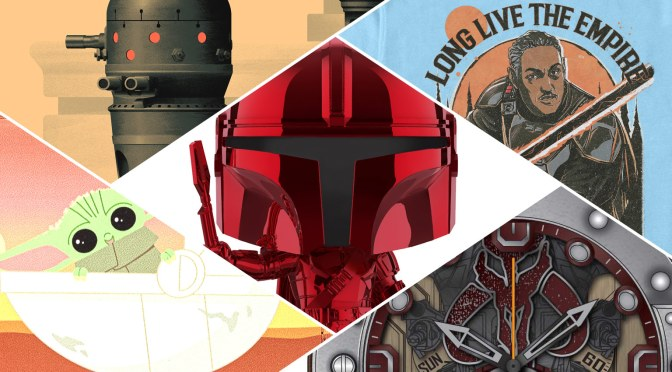 Mando Mondays | More Mando Merch Unveiled