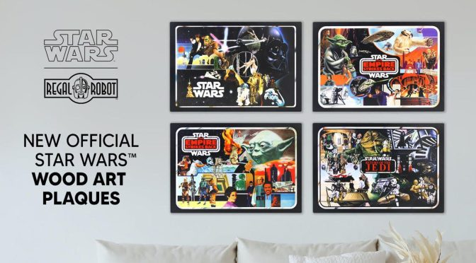 Black Friday | Regal Robot Unveil Retro Star Wars Plaques