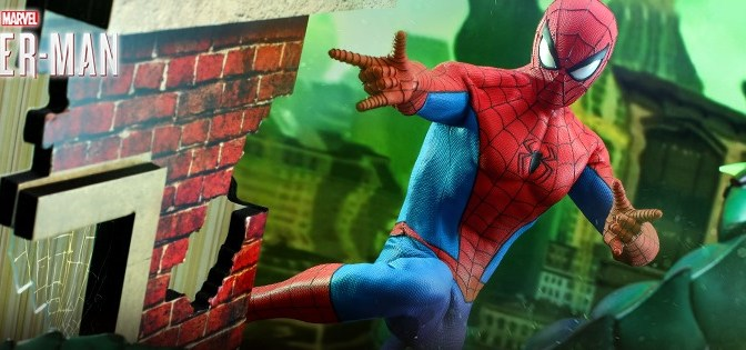 Hot Toys Reveals Spider-Man (Classic Suit) Figure!