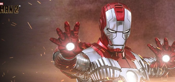 Hot Toys Reissues The Iron Man MK-5 Figure!