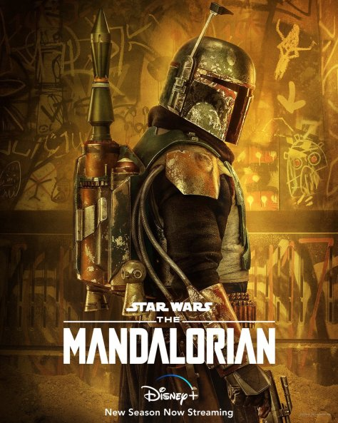 The Mandalorian Boba Fett Character Poster