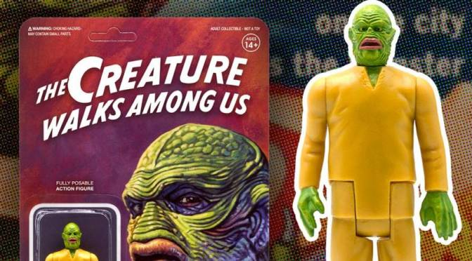 First Look | Universal Monsters 'The Creature Walks Among Us' ReAction Figure