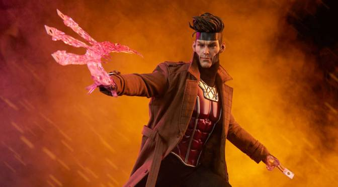 Marvel Comics | Gambit X-Men Sixth Scale Figure by Sideshow Collectibles