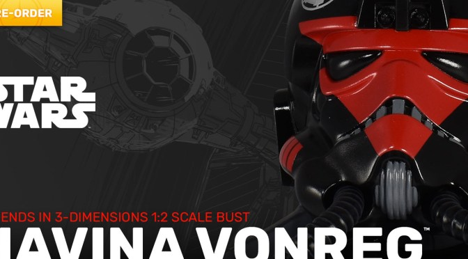 First Look | Star Wars: Squadrons – Havina Vonreg 3D Bust From Gentle Giant