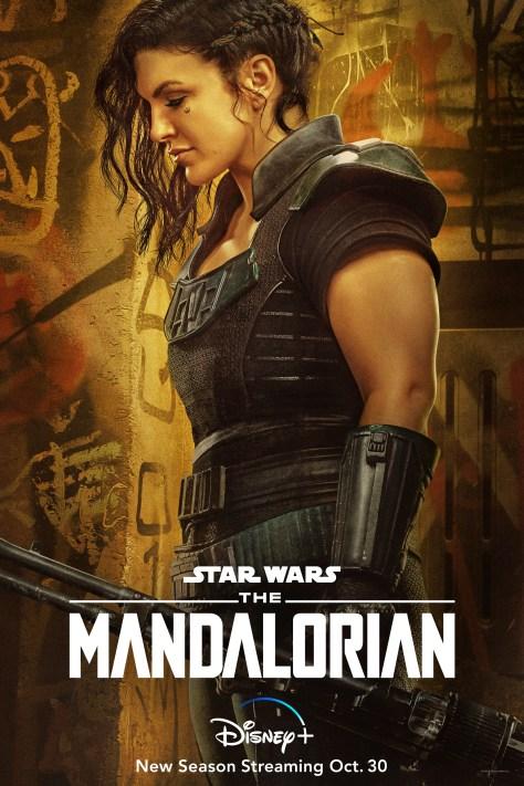 The Mandalorian Character Poster Cara Dune