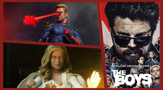 The Boys | NECA Homelander and Starlight Preview