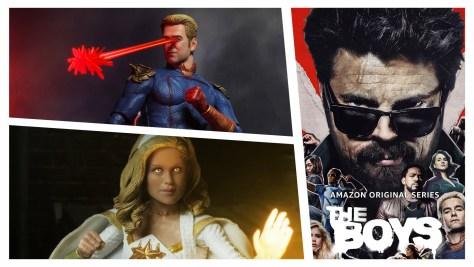 The Boys | NECA Homelander and Starlight Figure Preview