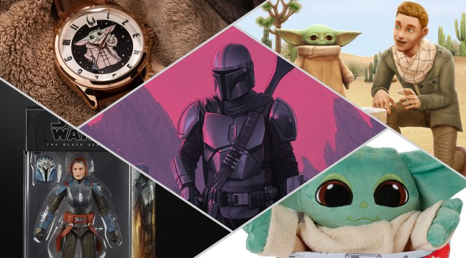 Mando Mondays | Another Cargo Hold Of Mando Merch Is Unveiled