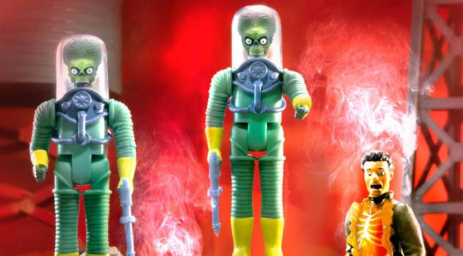 Mars Attacks ReAction Figures From Super 7