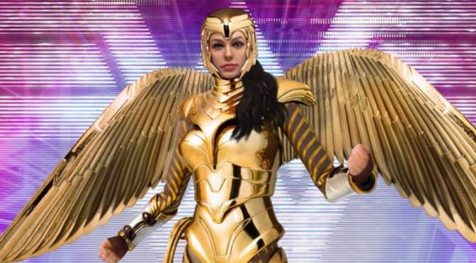 Beast Kingdom | Wonder Woman 1984 Golden Armor Figure