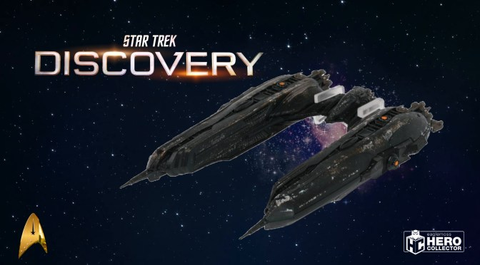 First Look | Star Trek Discovery #33 Klingon Chargh Class (Eaglemoss)