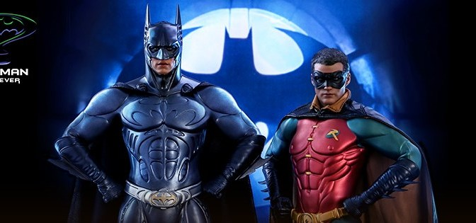 First Look | Hot Toys Batman & Robin (Batman Forever)