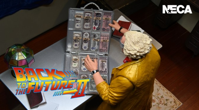 NECA Teases Doc Brown From Back To The Future Part 2
