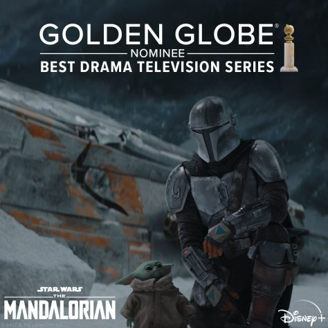 The Mandalorian Nominated For A Golden Globe