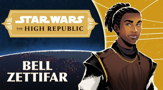Jedi Padawan Bell Zettifar Characters of Star Wars the High Republic