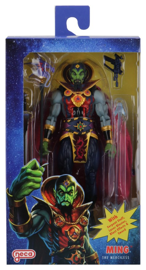NECA Defenders Of The Earth Ming The Merciless