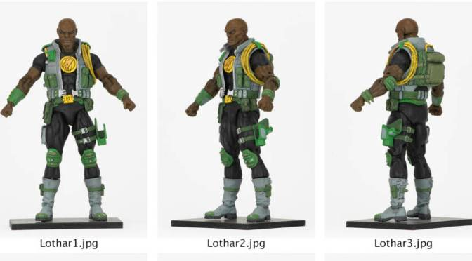 First Look | NECA's Lothar From Defenders Of The Earth