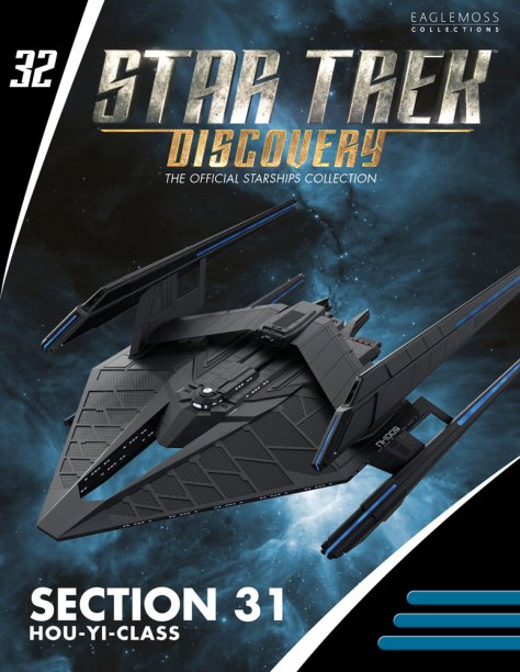 Section 31 Hou Yi-Class Starship Magazine