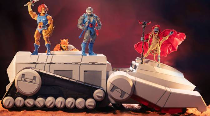 New ThunderCats ThunderTank From Super7