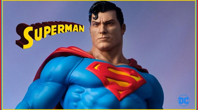DC Comics | Superman Maquette From Tweeterhead