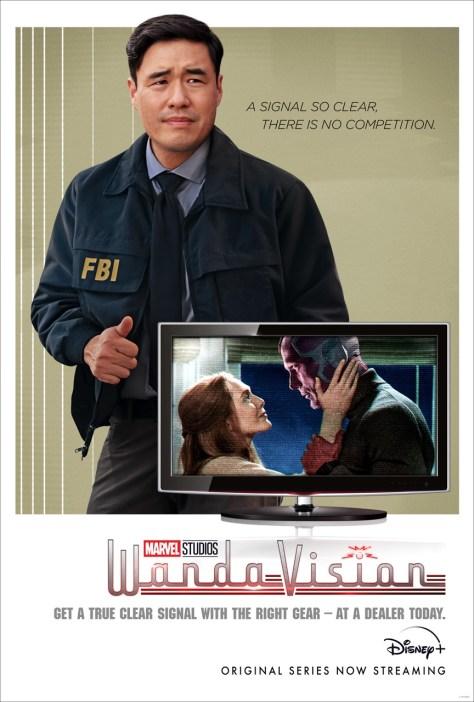 Jimmy Woo WandaVision Poster