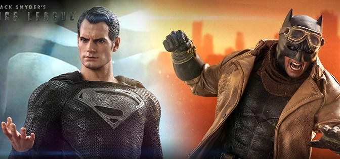 First Look | Hot Toys Superman & Knightmare Batman (Zack Snyder's Justice League)